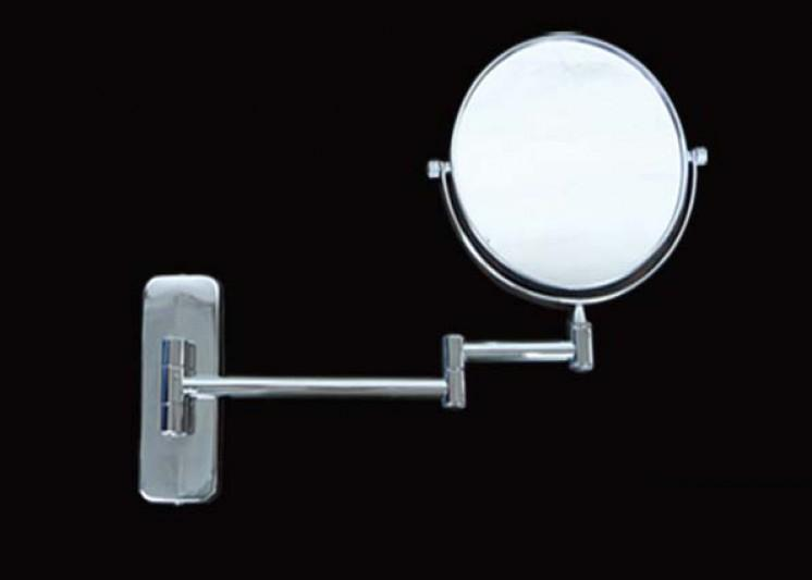 Mirror Bathroom Extendable S/S Size 150mmDia