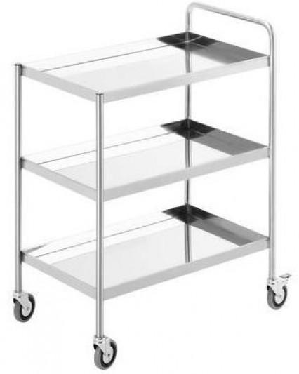 SIMPLY STAINLESS Trolley 3 Tier SS15