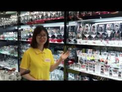 A guide visit to Hotel supplies market in Guangzhou China
