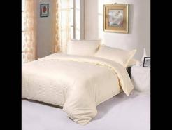 Cotton satin stripe hotel bed sheets, pillow covers manufacturers & wholesale suppliers @ discount