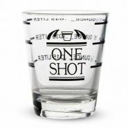 Measured Shot Glass 1.5 oz