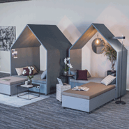 Hut Lounge from Scandinavian Spaces