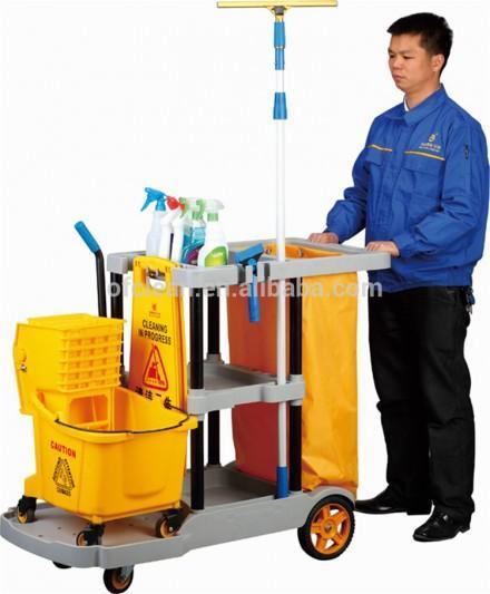 Multifunction Hotel Housekeeping Cleaning Trolley/housekeeping Cart Buy Hotel Housekeeping Maid Cart,Housekeeping Cart,Housekeeping Trolley