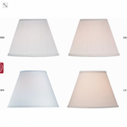 GuestSupply US 5x7 9x16 10 1 x22 drop Rectangular Parchment Hardback Lampshade