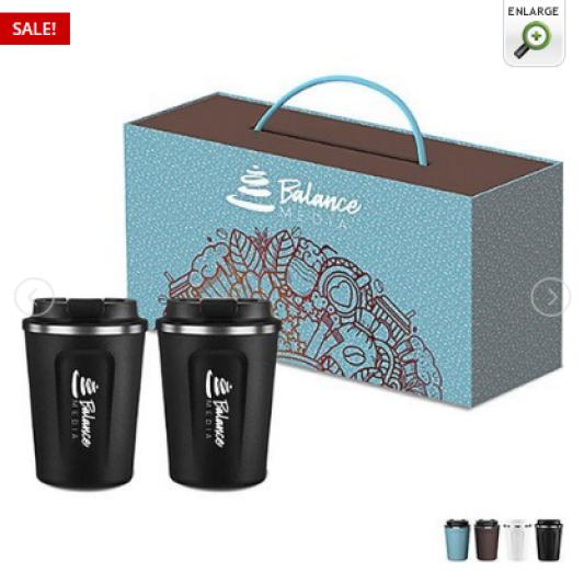 Café Compact Tumbler Gift Set