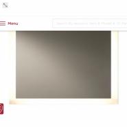 Backlit LED Mirror 4 Sides 48W 36H