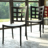 Grosfillex Plazza Stacking Chair