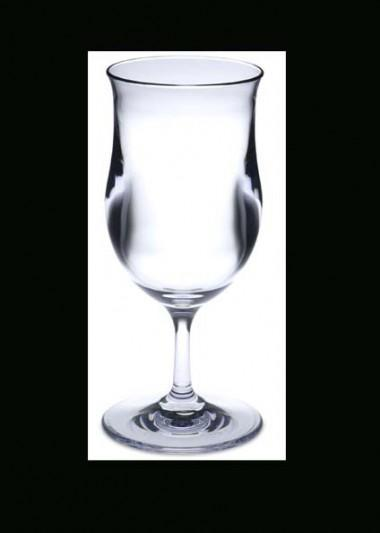 Polycarbonate Glasses Pina Colada Clear 392ml D84 H180 Each Commercial Hospitality and Hardware