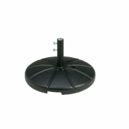 Grosfillex® Umbrella Base with Filling Cap, Black