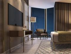 Customized modern boutique hotel apartment furniture (R117)