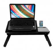 Wooden Laptop Table with Mobile Dock