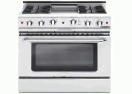 Four Burner Gas Cooking Range
