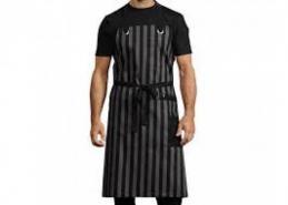 Premium Striped Chef Apron
