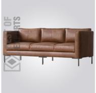 Aric Modern Leather Sofa