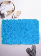 ARTISAN Shiny-Shaggy Bath Rug With Anti-Skid_solid