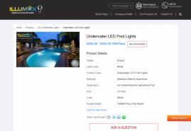 Underwater LED Pool Lights