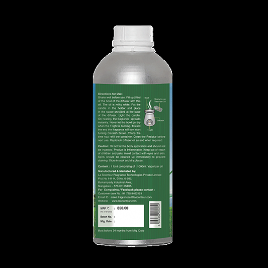 READY TO USE SUGARCANE VAPORISER Oil