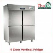 4 Door Vertical Fridge