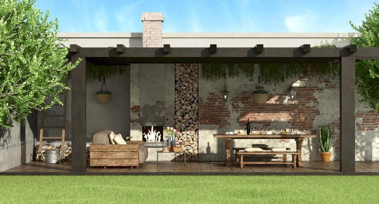 Outdoor Dining Rooms, Fireplaces, and Rock Walls: Top Landscaping Trends