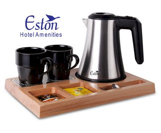 KETTLES & WELCOME TRAYS