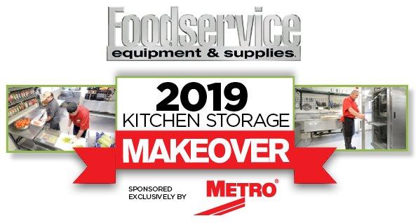 Commercial Kitchen Storage Makeover