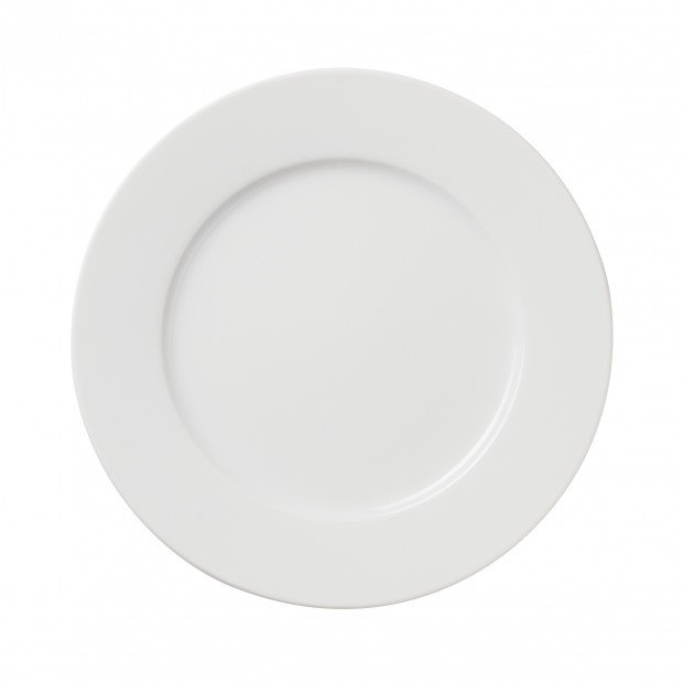 White dessert plate 3 sizes, porcelain, French Classics