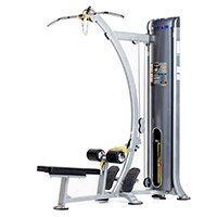 Lateral Mid-Row Strength Station Platinum Sparkle with Charcoal Accents 75 D