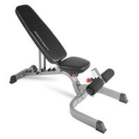 Flat / Incline / Decline Utility Bench, 7 Different Positions, 1,000 lbs Capacity