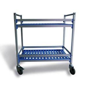 Aluminium Serving & Clearing Trolleys
