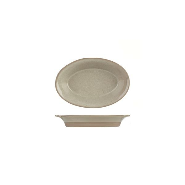 ADC Igneous Oval Serving Dish
