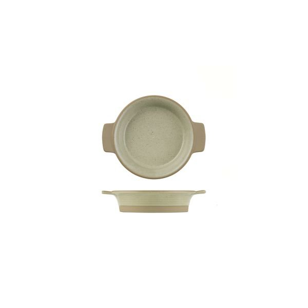 ADC Igneous Round Dish with Handles