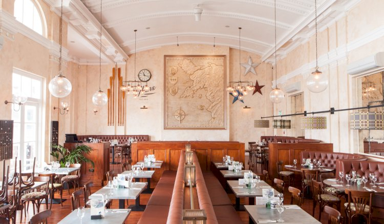 Our globe lights feature inside a Grade II listed building in North Wales