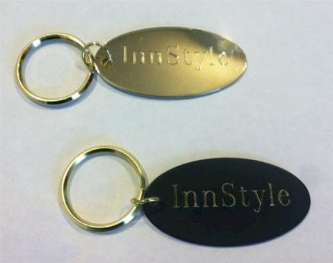 Oval Key Ring