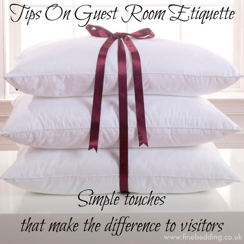 5 Tips On Guest Room Etiquette