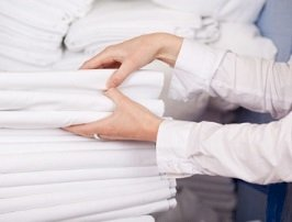With Recyclable Linens, Entrepreneur Seeks to Revolutionize Laundry Operations
