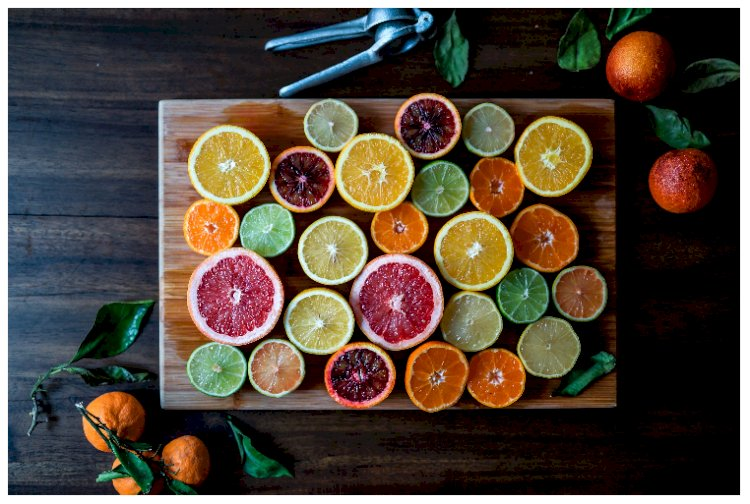 Trends in perfume: unknown citrus fruit