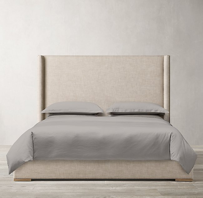 Lawson Shelter Nontufted Fabric Bed