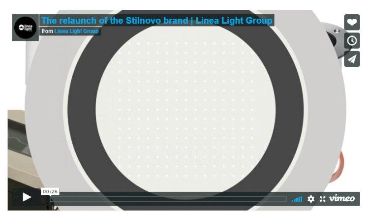 The relaunch of the Stilnovo brand