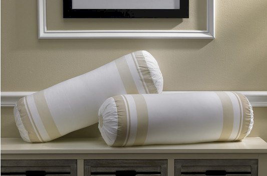 Block Print Bolster Pillow
