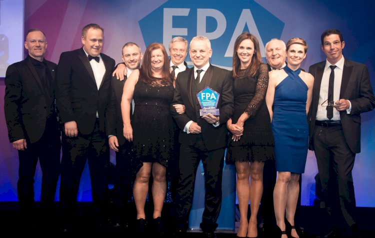 Bunzl Catering Supplies takes home FPA National Distributor of the Year award for the fourth time in six years