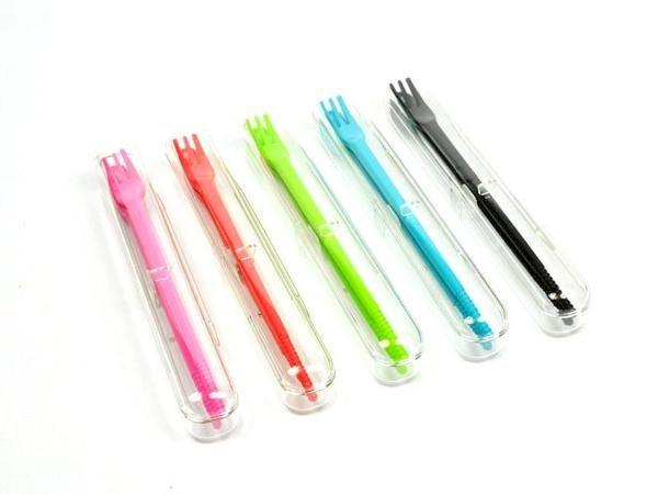 3 way chopsticks | Mini Blue