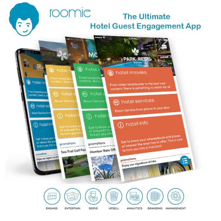 HTI Becomes Marketing Partner for the ROOMIE UK Hotel Mobile Guest Engagement App
