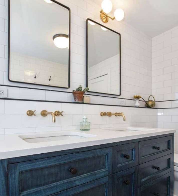 15 Modern Wall-Mounted Faucet Design Ideas to Complete Your Bathroom