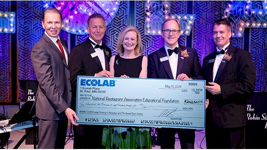 Ecolab Event Raises More Than $200,000 for National Restaurant Association Educational Foundation Scholarships