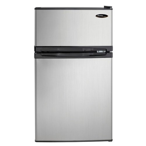 2 Door Refrigerator/freezerSstainless.