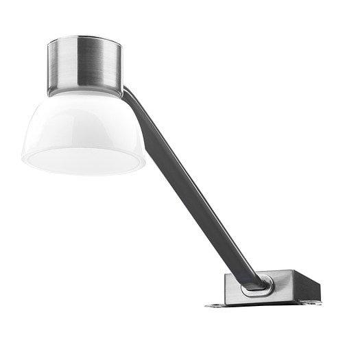 LINDSHULT LED cabinet light, nickel plated $24.99