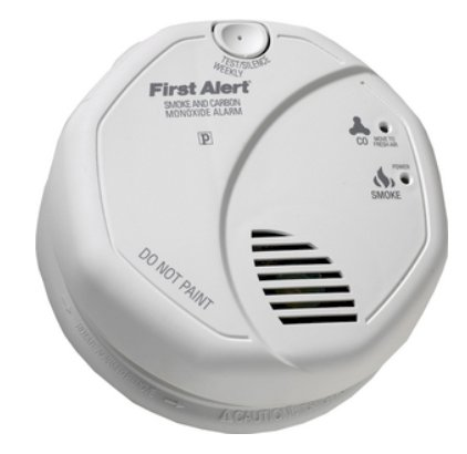 BRK Electronics First Alert 120V AC/DC Smoke/Carbon Monoxide Combo Alarm in White  $89.22