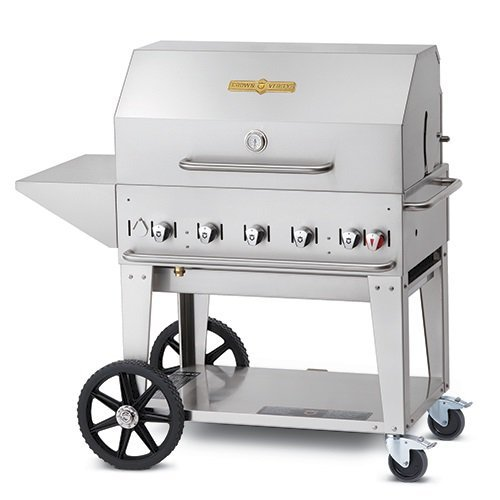 Crown Verity Professional Barbecue MCB-48 Stainless Steel