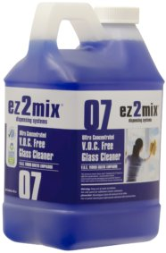 ez2mix Ultra Concentrated V.O.C. Free Glass Cleaner