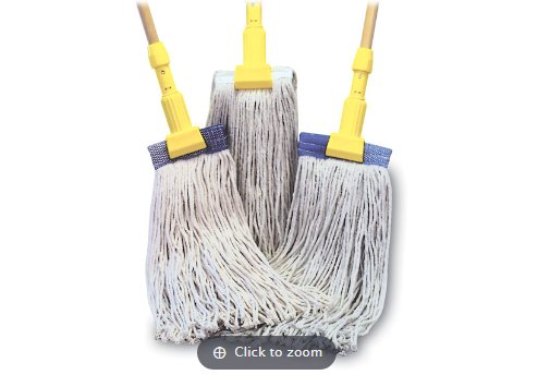 4-PLY COTTON MOPS